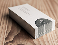 Personal Identity – Letterpress Business Cards