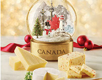 Holiday promotional campaign-Dairy Farmers of Canada