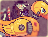 Penguin Duck: Character Animation