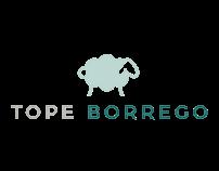 tope borrego branding