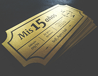 Golden ticket - Party VIP