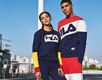 FILA new heritage collection SS2017 campaign