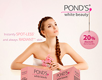 POND´S Packaging & Flyer