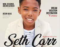 Seth Carr for Posh Kids Magazine