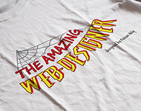 The Amazing Web Designer - T shirt design