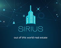 logo for a real estate agensy | sirius