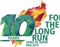 Spirit of Wipro Run 2015 - Branding