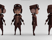 Fantasy characters / Low poly
