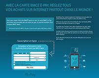 Projet News Carte epay de la Banque BMCE MAROC