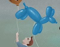 EL CUMPLE DE JAVI Ilustración para invitación.