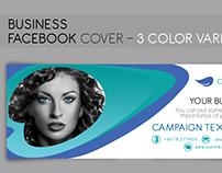 Facebook Cover - 3 color variation