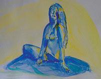 Watercolor Figures