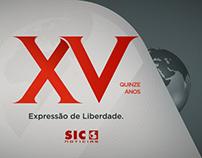 XV years Sic Notícias