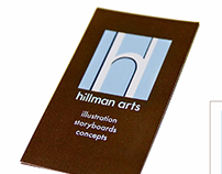 Hillman Arts Logo & Business Card