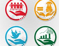 Project: Development Reform and Agenda Icon Design