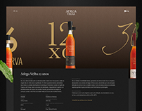 Adega Velha Website