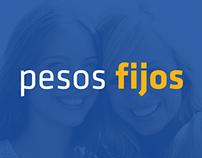 Campaña pesos fijos