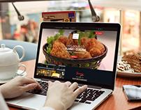 Restaurant Template UI Design