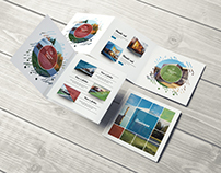 Multipurpose Square Brochure
