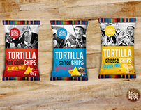 CASA DE MEXICO - Set of Tortilla chips.