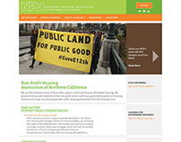 Non-Profit Housing Assoc. Web Redesign via TapRoot