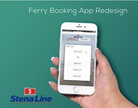 Stenaline booking app redesign