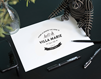 VILLA MARIE - WINE BRAND (IN PROGRESS)