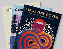 Magazin Cover Illustrations