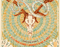 Willis Alan Ramsey Gig Poster
