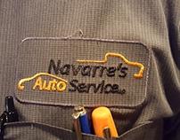 Navarre's Auto Service logo