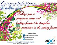 Candidate Congratulations Card