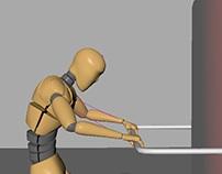 Animacja postaci - pulling objects