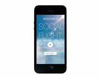 "Copa Airlines - ""Social flight"" concept app."