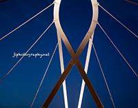 Aveiro circular pedestrian bridge