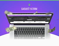 Garanti Yatırım UI Design