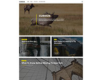 Curious - Ghost Magazin Theme by justgoodthemes