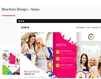 Brochure Design - Aosta