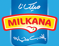 Milkana Egypt-Social Media Events' Designs (2014-2015)