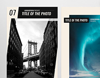 Photography Social Media Templates