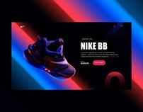 Web Shoe Header Design