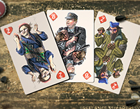 "Deck of playing cards ""Russians"""