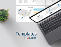 USA Map Presentation Template | Download Free