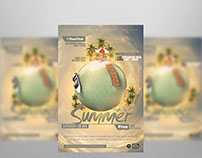 Trip To Summer Flyer Template Vol 3