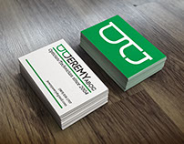 Logo, business card and resume for an Optician