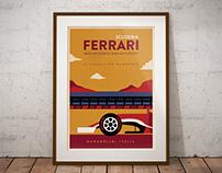 Retro F1 Team Posters | Illustration