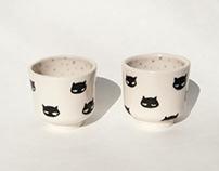 Mini Kitty Cups