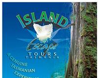 ISLAND ESCAPE Tours branding & promotional media