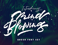 Mind Blowing Brush Font