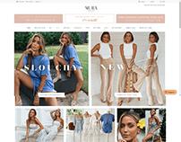 Mura Boutique Online Website