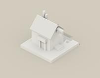 Paper buildings 1, 2, 3 (WIP)